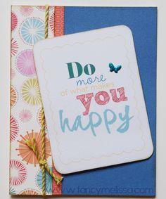 Hopscotch Card www.fancymelissa.com #ctmh #picturemylife #happy