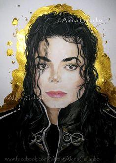 Michael Jackson by AlenaGalayko on DeviantArt Michael Jackson Poster, Michael Jackson Drawings, Michael Jackson Wallpaper, Jackson Music, Michael Art, Love U Forever, King Of Music, Beautiful Smile, Black Art