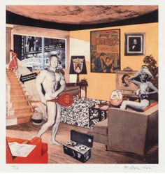 Richard Hamilton - Just what was it that made yesterday's homes so different, so appealing