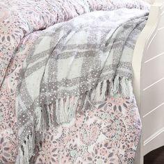 Glitz Plaid Throw   PBteen Absolutely love this blanket!!!
