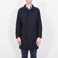 Wanderer Coat, Dark Navy