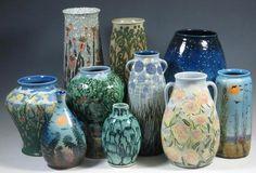 Tim Eberhardt Art Pottery | St. Louis, Missouri | www.belhornauctions.com