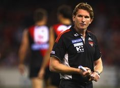 James Hird. Essendon Football Club Coach.