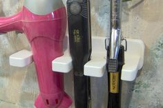 WHAT!  Where have you been all my life?? White hair blow dryer curling iron brush 1 and one half by jahnjed, $13.95