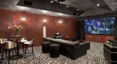 theater Room  Paradise Valley, AZ