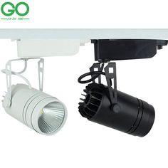LED Track Licht Dimbare 15 W COB Rail Lamp 130-140lm/W Spotlight Schoen Kleding Winkel Winkel Lichten Supermarkt Indoor verlichting(China (Mainland))