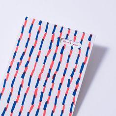 ribbon stripe thank you