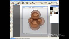V-Ray for SketchUp - Making brushed nickel, stainless steel, and copper ...
