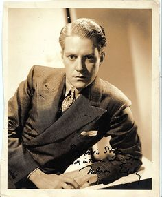 Nelson Eddy  :  Singer  Actor     Vintage Signed Photograph