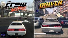 cool The Crew Wild Run vs Driver San Francisco - Dodge Challenger SRT eight Graphics & Sound Comparison