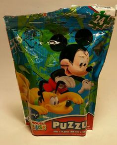 Disney Mickey Mouse clubhouse 24 pieces puzzle in Toys & Hobbies, Puzzles, Contemporary Puzzles | eBay