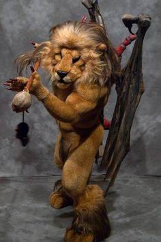 Part human, part lion, and part scorpion, a manticore is a legendary creature that may or may not possess wings and a bad attitude.