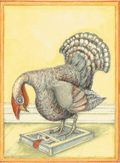 Thanksgiving Thanksgiving Turkey On Scales