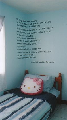 paint quotes on the walls