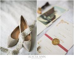 Bride's wedding details - New Years eve wedding ideas