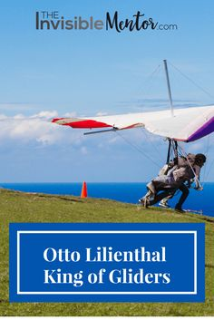Otto Lilienthal, King of Gliders is a part of aviation history. Otto Lilienthal contributed significantly to piloted flight and was an inspiration to The Wright Brothers. He studied various birds in flight and wanted to replicate the motions of seagulls because of their broad wing strokes and their ability to sail on the sea. Click through to read my article, Otto Lilienthal, King of Gliders, which is a mini biography of Otto Lilienthal. You will learn about the man and aviation history.