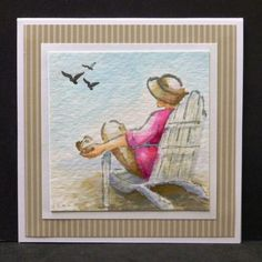 CC538 Seaside by hobbydujour - Cards and Paper Crafts at Splitcoaststampers