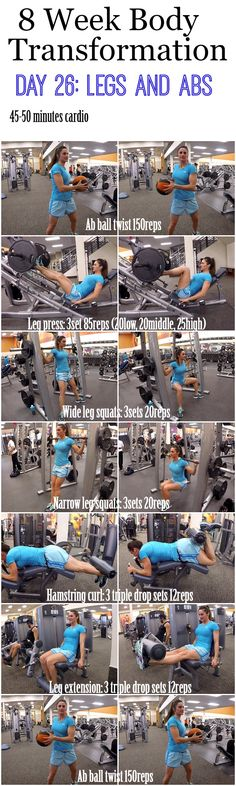 Legs and Abs Workout | Posted By: NewHowtoLoseBellyFat.com