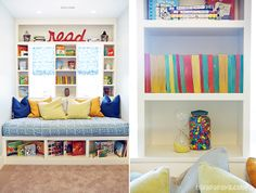 Absolutely fantastic reading nook!