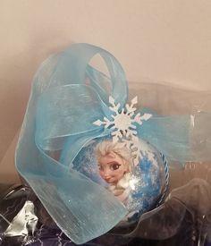 Pallina Frozen decorazione albero di natale di MalibuBabyHandmade