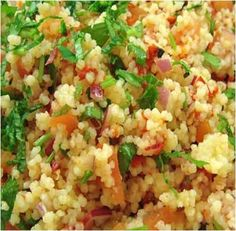 Couscous Salad Recipe #stepbystep