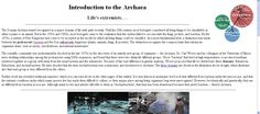 Introduction to the Archaea Life, Universe