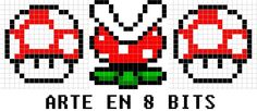 Arte en 8 bits (hama beads)