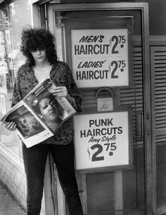 Joey Ramone - I think I'm starting to see a pattern in haircut pricing.