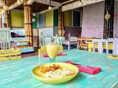 Breakfast at Clear Cafe, Ubud