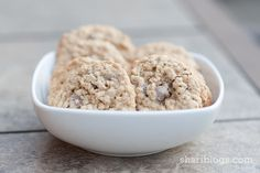 Chewy Chocolate Chip Oatmeal Cookies - Shari Blogs...all things sweet & delicious!