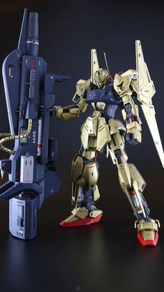 GUNDAM GUY: MG 1/100 Hyaku Shiki Ver. 2.0 - Customized Build