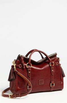 I LOVE this purse.  A girl can dream though reality wiht 3 boys and 5 dogs it's not likely I will ever spend $400 on a purse!    Dooney & Bourke 'Florentine' Vachetta Leather Satchel available at #Nordstrom