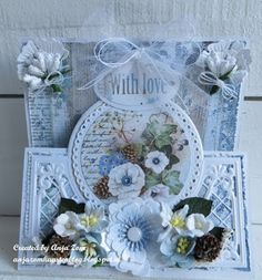 Anja Zom kaartenblog: Nog een kaartje Stepper Cards, Fancy Fold Cards, Marianne Design, Gadgets And Gizmos, Diy Cards, Handmade Cards, Card Sketches, Flourish, Paper Crafting