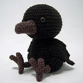 "This crochet pattern for  little bird can be found on the ""I Crochet Things"" blog."