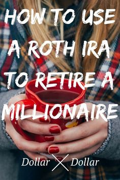 How To Use A Roth IRA To Become A Millionaire - Dollar After Dollar - Finance tips, saving money, budgeting planner Budgeting Finances, Budgeting Tips, Investing Money, Saving Money, Stock Investing, Best Money Saving Tips, Ways To Save Money, Faire Son Budget, Roth Ira