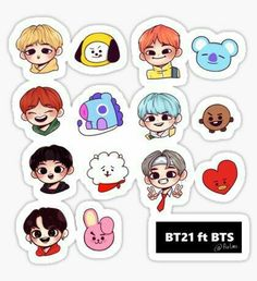 Bts line army kpop Pop Stickers, Tumblr Stickers, Printable Stickers, Bts Chibi, Kpop Diy, Kpop Drawings, Bts Merch, Aesthetic Stickers, Bts Fans