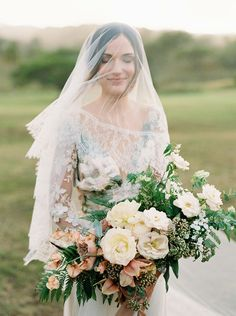 Lace Wedding Veil, Long Ivory Cathedral Blusher Veil, Chantilly Lace Silk Wedding Veil, Handmade Couture Bridal Veil, Drop Veil - Style 513 - by SIBO Designs Drop Veil, Wedding Veils, Lace Wedding, Wedding Hair, Diy Wedding, Wedding Bouquets, Lace Veils, Chantilly Lace, French Lace