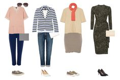 Capsule wardrobe outfits, from Baukjen Spring collection