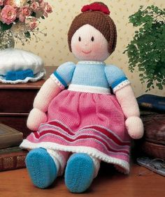 Jean Greenhowe Knitting Patterns Jemima Jane & Friends