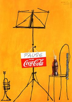 Herbert Leupin - Coca-Cola Pause, 1953