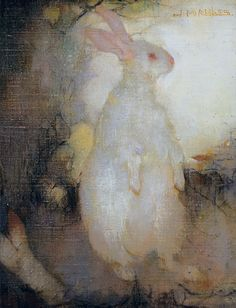 White_rabbit,_standing,_by_Jan_Mankes.jpg 1.531×2.000 pixels