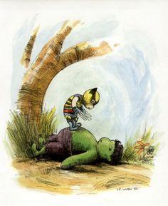 Hulk Winnie the Pooh Style