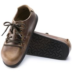 BIRKENSTOCK Montana Natural Leather Antique Brown in all sizes ✓ Buy  directly from the manufacturer online ✓ All fashion trends from Birkenstock