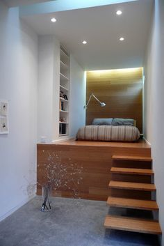 Bedroom Photos Design, Love  the stairs..
