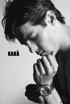 Kaká Just Love, True Love, Soccer Players, Real Madrid, 6 Years, Black And White, Football, Gangsters, Young Men