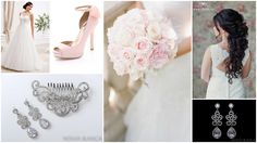 pale pink bridal inspiration biżuteria ślubna www.novia-blanca.pl