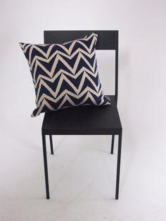 Scion+Dhurrie+Indigo+Blue+Cushion+Cover, £10.00 zigzag, chevron, designer.