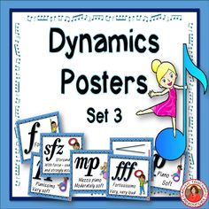 FREE: 11 DYNAMICS POSTERS | Music posters