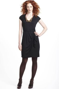 Billiard Jersey Dress / Anthropologie  Love this look for the office