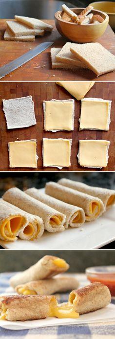 Rollitos de queso